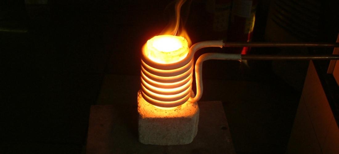 Inductie smelten